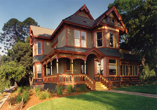 restored Victorian home