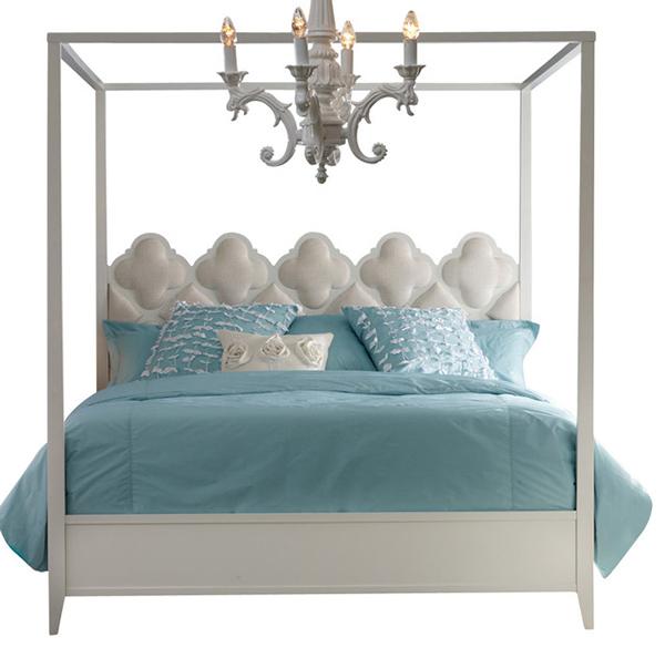 Hooker Furniture Melange Quatrefoil Poster Beds