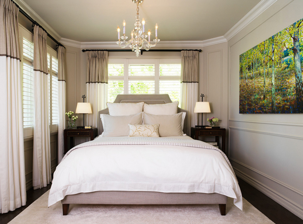 elegant bedroom chandelier