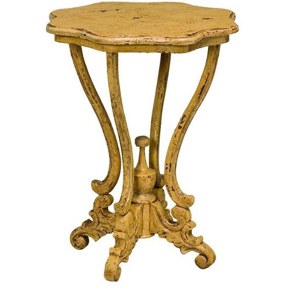 Dijon Yellow Side Tables