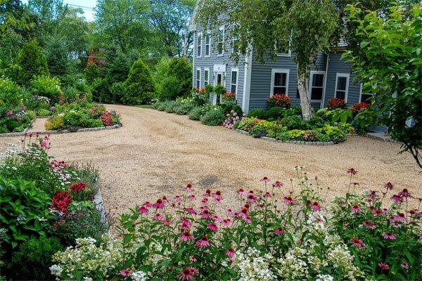 planting beds gravel