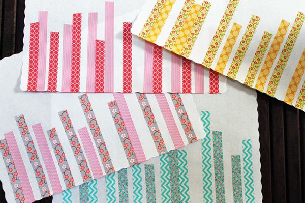 Washi Tape Placemats