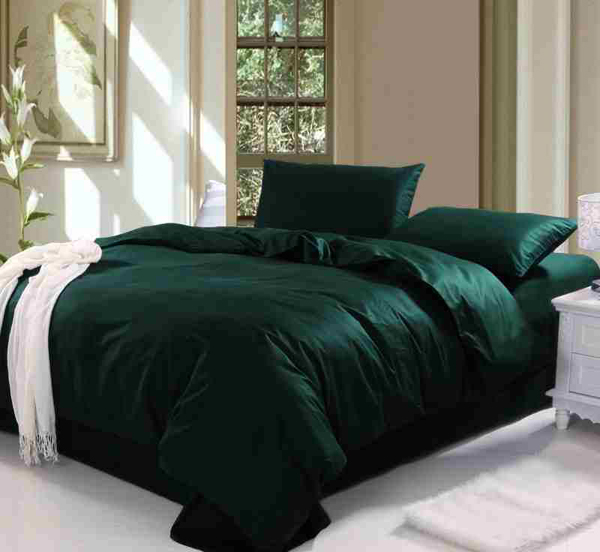 dark green sheets