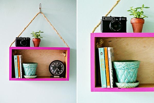 Modern Hanging Shelf