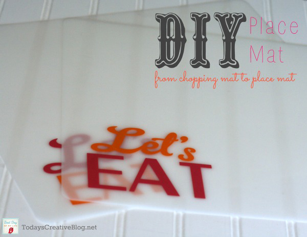 DIY Placemats for Outdoors