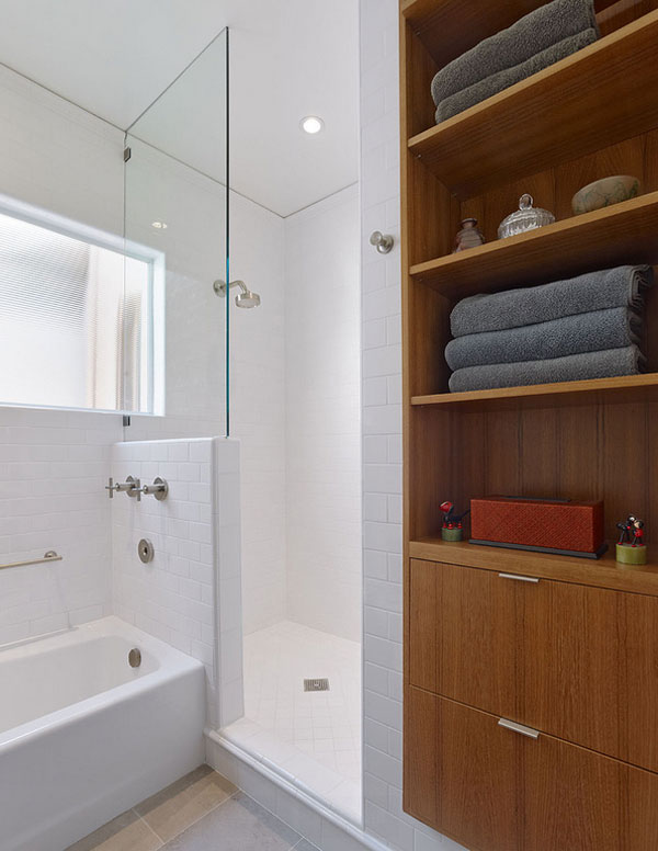 recessed cabinet bathroom
