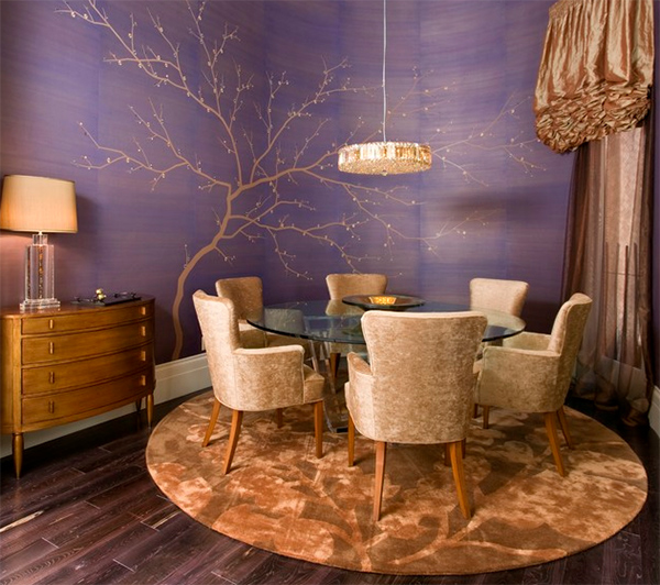 20 Dining Room And Kitchen Interior Combo Ideas 18307: 20 Ways To Use Gold Accents In The Dining Room