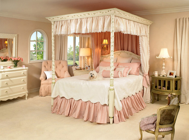20 Whimsical Girls Full Canopy Beds Fit For A Princess Home Design Lover