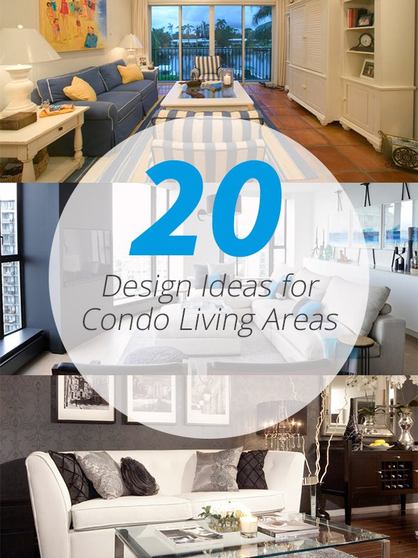 condo living areas