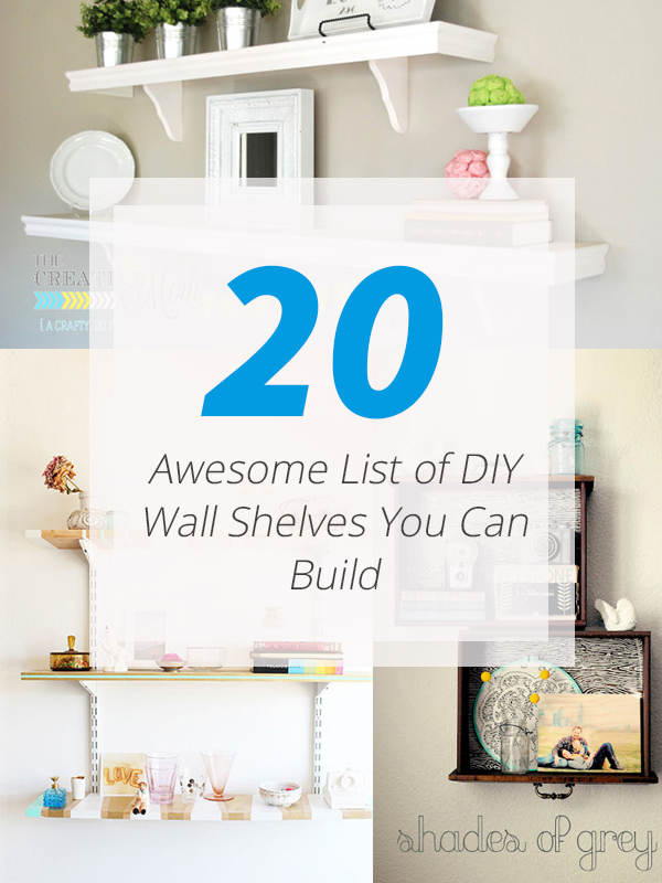 diy wall shelf