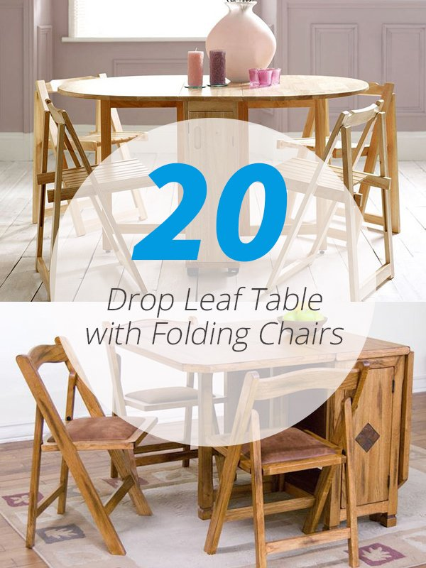 20 Drop Leaf Table With Folding Chairs Home Design Lover