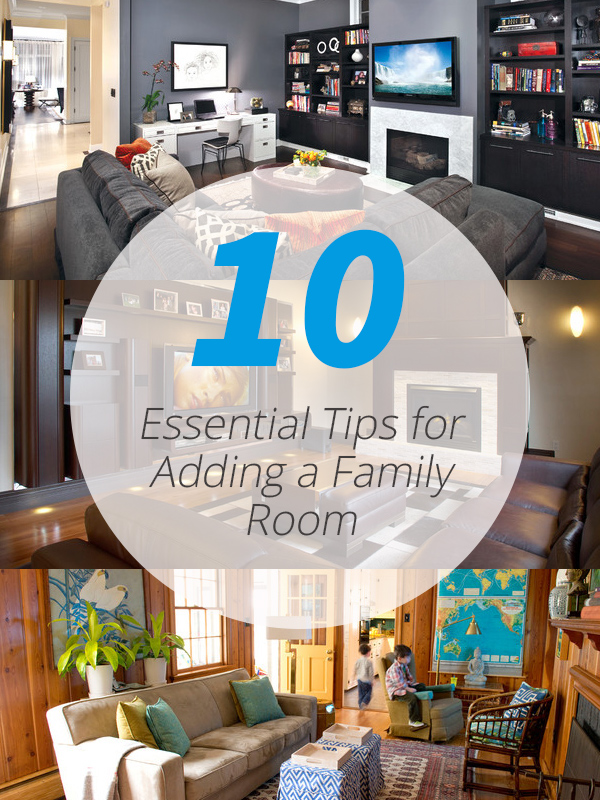family room tips