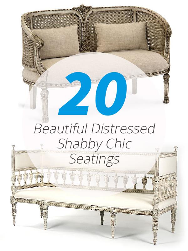 shabby chic seats