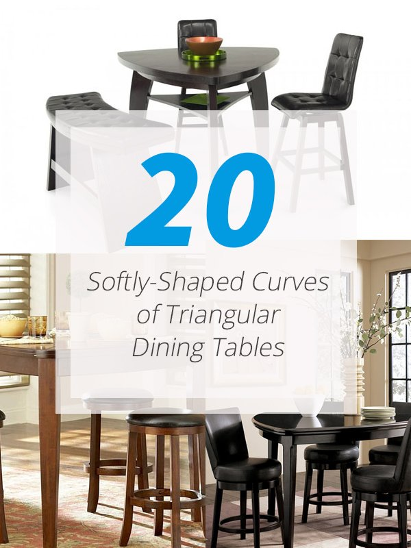 Triangular Dining Tables