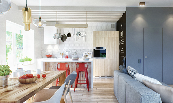 Charming Scandinavian Interior NVMD in Moscow, Russia | Home Design ...