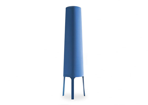 Allure blue floor lamp