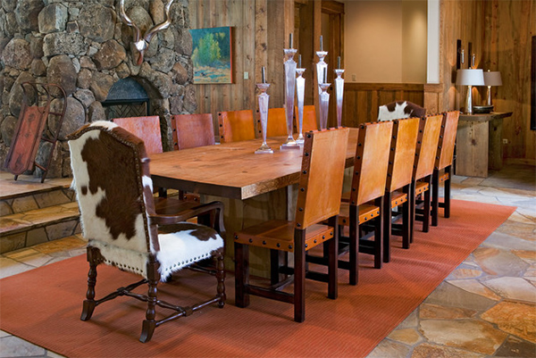Cowhide Dining Chairs Grace 20 Lovely Dining Areas Home