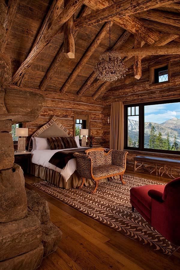 bedroom wooden materials
