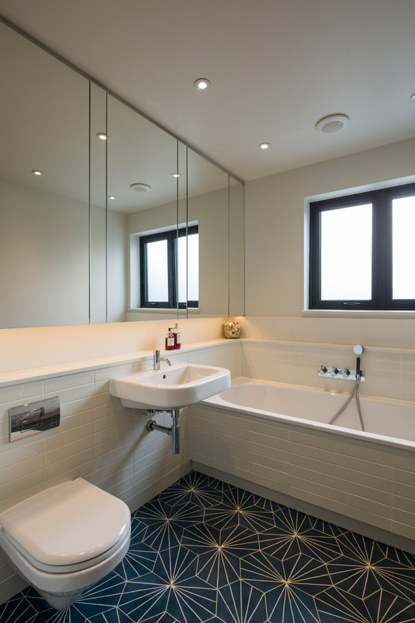 Magnificent changes applied in the a 1930 39 s house in north for Bathroom design north london