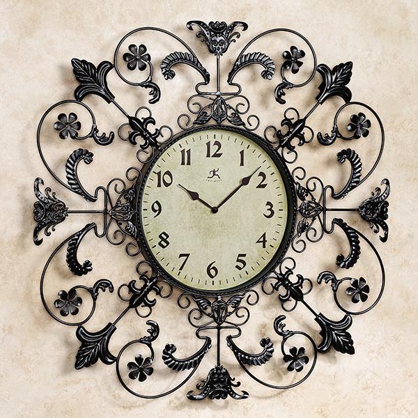 20 French And Antique Fleur De Lis Wall Clocks Home