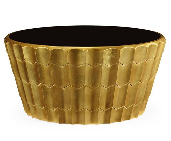 Gold Leaf Coffee Tables