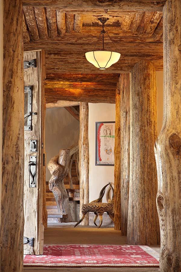 rustic wood materials