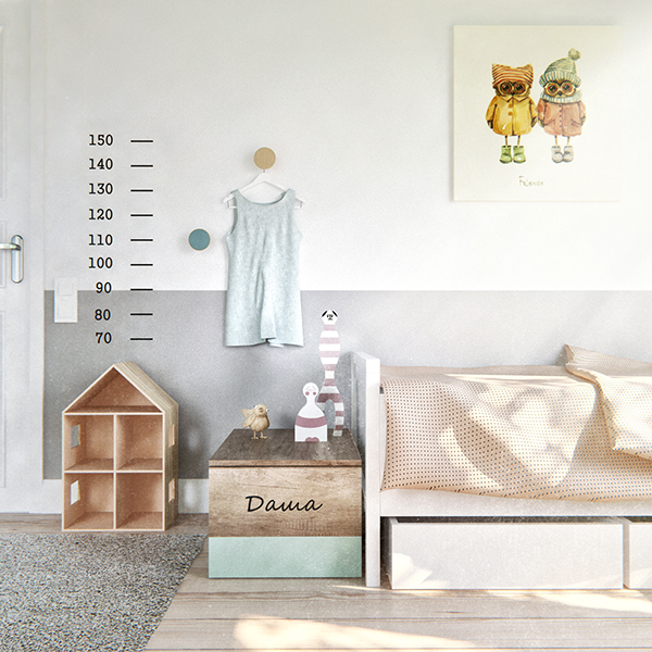 bedroom minimal design