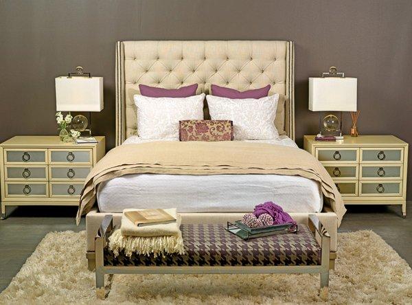 golden bedsheets