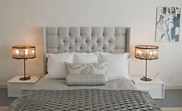 Chelsea Loft Modern Grey Bed