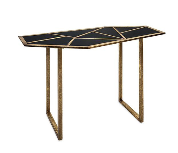 Mirror Mosaic Console Tables
