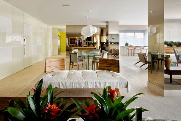 Brazil home interior
