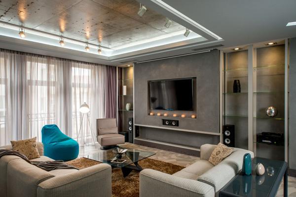 romantic living space