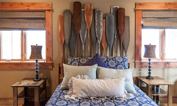oars headboard decor