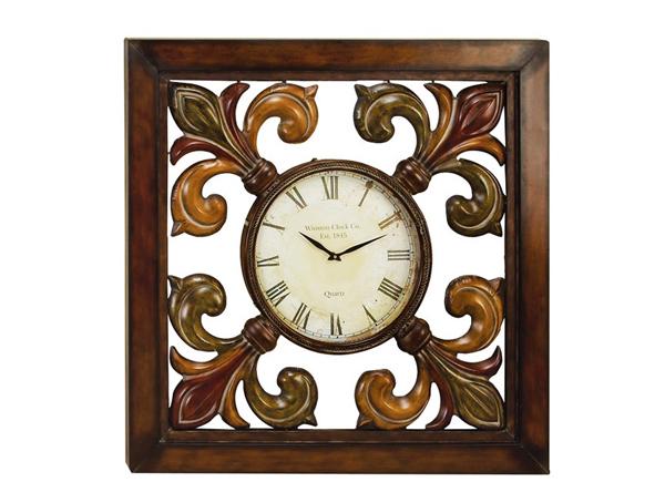 20 French And Antique Fleur De Lis Wall Clocks Home Design Lover