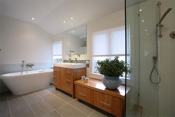porcelain tile bathroom flooring