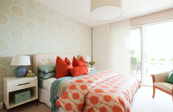 Bedroom Geometric Patterns