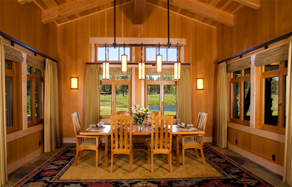 20 Craftsman Dining Rooms Featuring Natural Materials Home Design