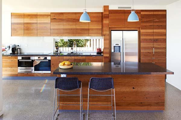 wood kitchen elements