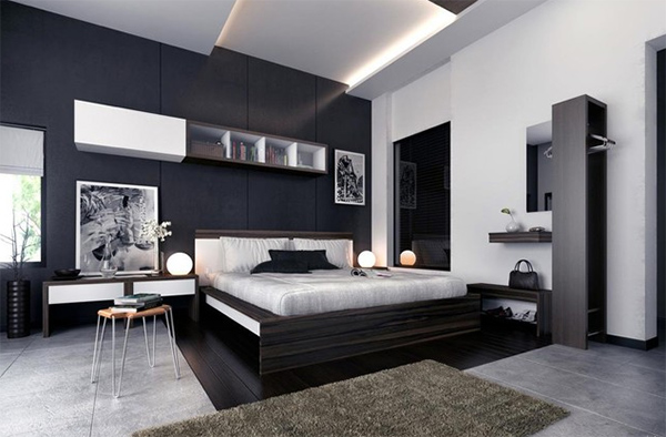 20 Formal and Conservative Gray Condo Bedrooms | Home Design Lover