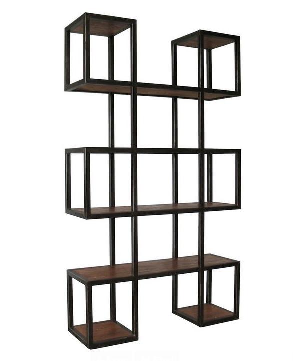 Geometric Modern Bookcase