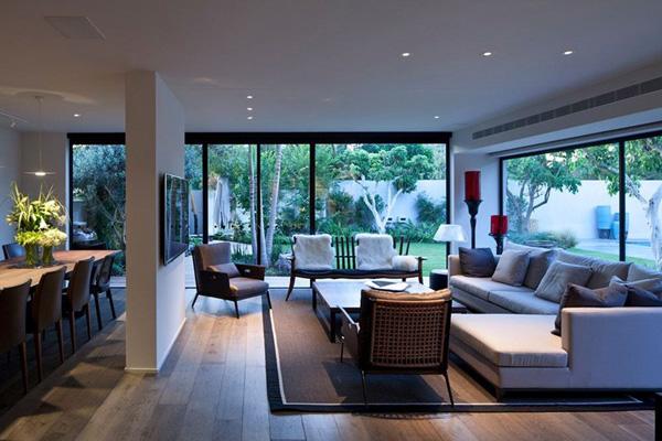 LED lights living room