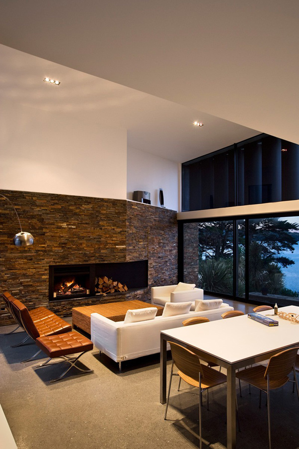 elegant fireplace design