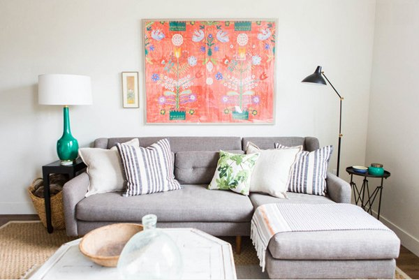 Living Room Design With Grey Sofa. grey sectional furniture  Ashley Winn Design 20 Gorgeous Grey Sofa in the Living Room Home Lover