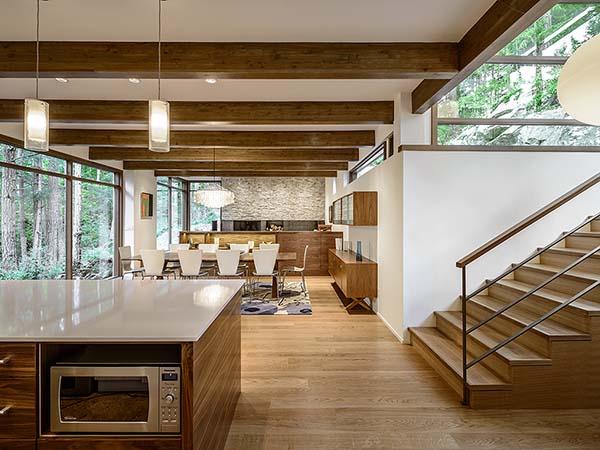 wooden interior elements
