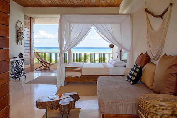 Tropical And Relaxing Mood Set In Casa Xixim In Tulum