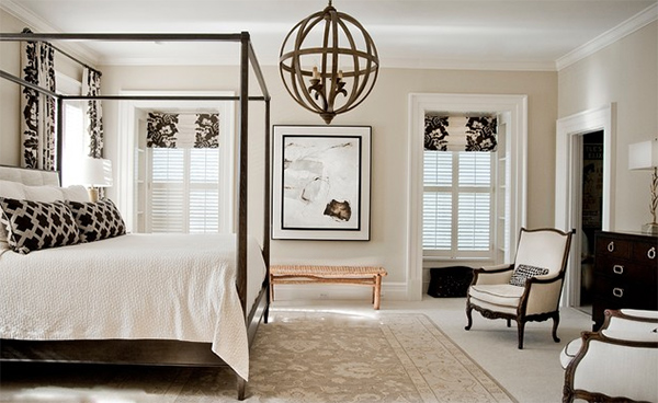 20 Lovely Bedroom With Roman Shades Home Design Lover