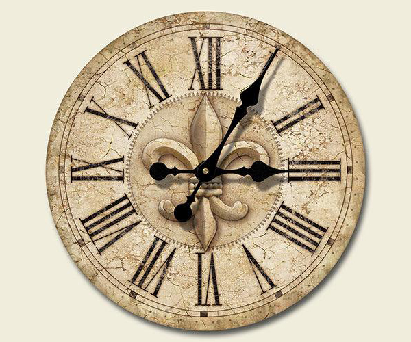 12 Inch Wood Wall Clock