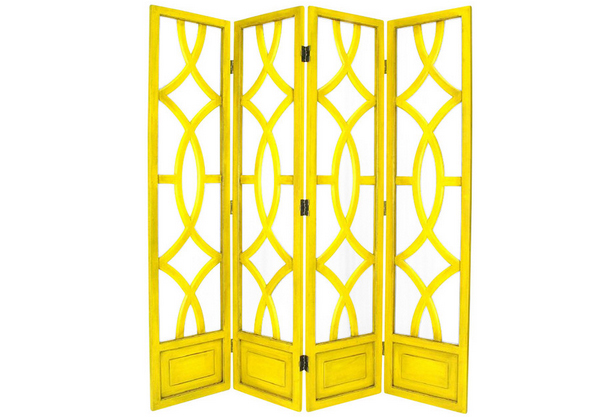yellow Room Divider width=