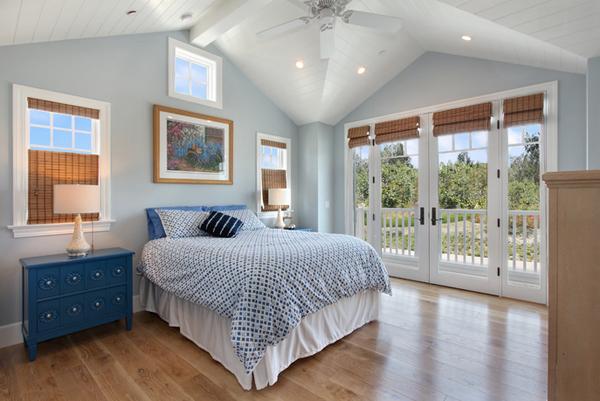 light blue wall