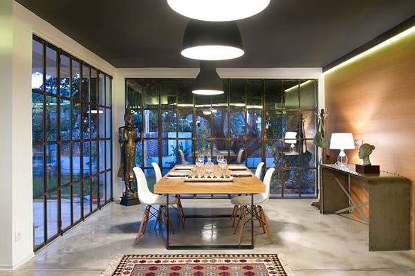 luxurious dining area